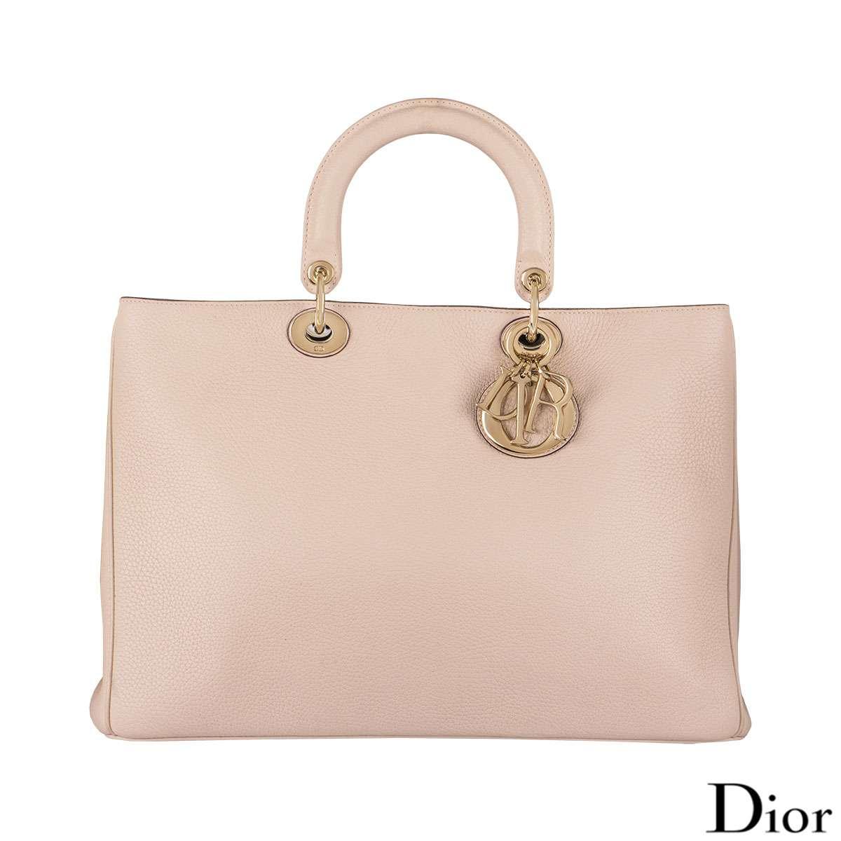 Christian Dior Pink Diorissimo Tote Bag